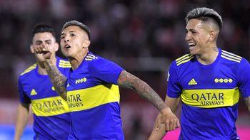 El tercero en discordia: Boca goleó 3 a 0 al Globo y aún sueña