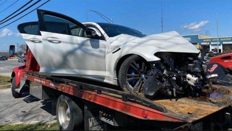 Gastó más de u$s 100 mil en un auto y lo destruyó el primer día