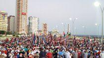 cuba: multitud defendio al gobierno