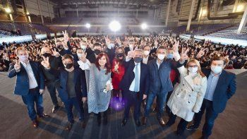 Con Alberto y Cristina juntos, así fue el cierre de campaña del Frente de Todos