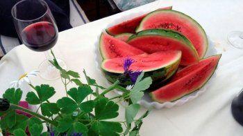 ¿por que melon con vino si y sandia con vino no?