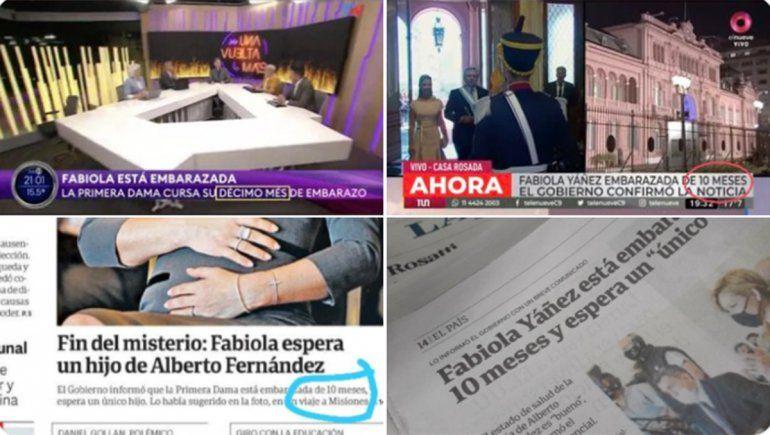 La burrada de Clarín, TN y La Nación: anunciaron que Fabiola está embarazada de ¡10 meses!