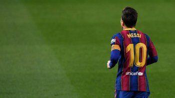 El contrato de Messi en Barcelona vence en el próximo mes de junio