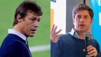 escandalo: periodistas deportivos contra kicillof tras su respuesta a almeyda