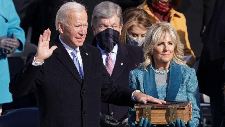 Asumió Biden en Estados Unidos: La democracia es preciosa