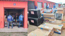 box alquilado con $5 millones en mercaderia complica a estafadores