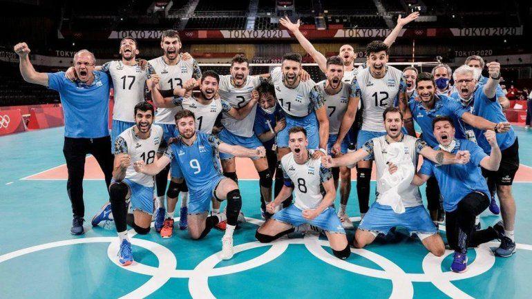 Histórico y emocionante: el vóley argentino es medalla de bronce