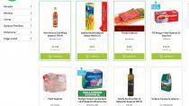 la ley de gondolas llego a las tiendas virtuales de supermercados