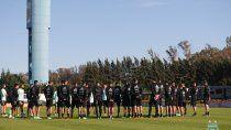 argentina garantizo su participacion en la copa america y confirmo base en ezeiza