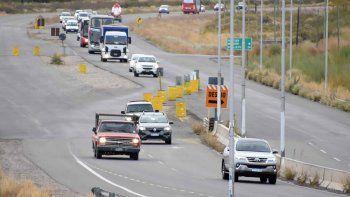 Ruta 22: hay desvíos en un sector del tramo Senillosa-Arroyito