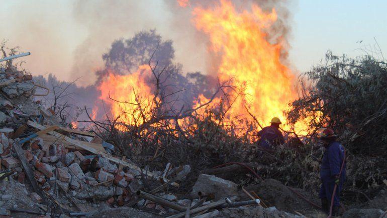 Centenario: se triplicaron los incendios y hay preocupación