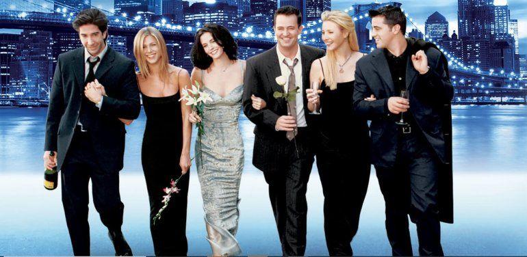Friends es una de las series más exitosas de la televisión