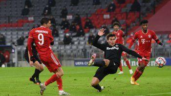 Con esta victoria Bayern Múnich se consolida como líder de la Liga de Campeones