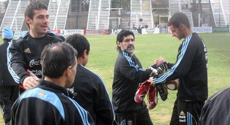 El romance entre Diego y el gol que se inició en Cipolletti