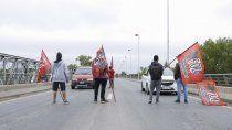 organizaciones sociales cortan la autovia norte