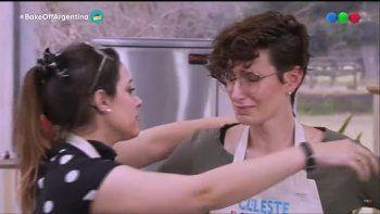 El desconsolado llanto de una participante de Bake Off