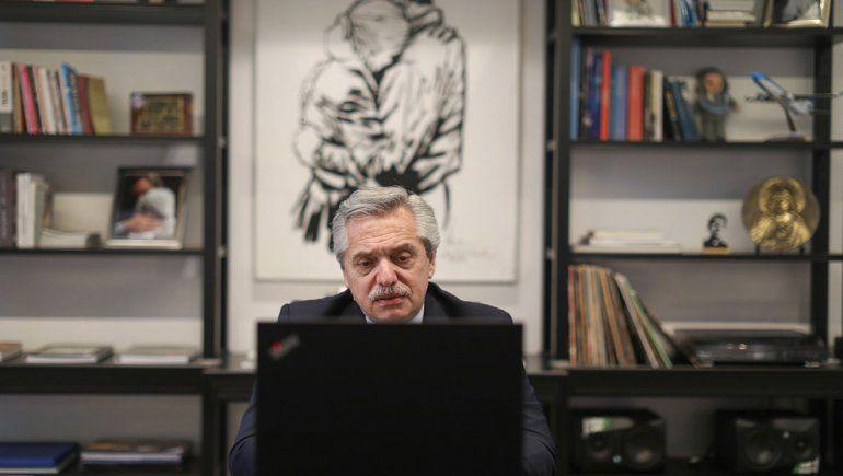 Alberto criticó al titular de la Corte por los camaristas