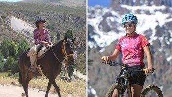 Ciclista neuquina rifa su caballo para comprar repuestos y representar al país