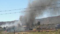 prohibieron la quema de basura o pastizales en la provincia