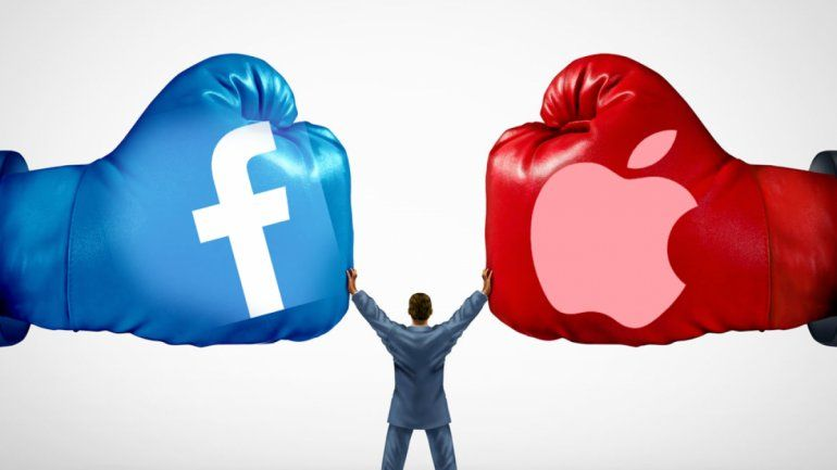 Apple vs. Facebook ¿Quién ganará la pelea por los datos personales?