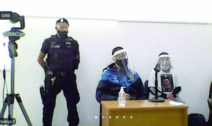 José Luis Espinoza, acusado del crimen de Nahuelcar, declaró como testigo de la fiscalía en el juicio por Luciano.