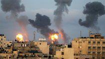 los cohetes apuntan a tel aviv tras la destruccion de la torre de gaza