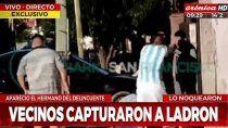 video: linchan a un ladron y a un hermano que quiso defenderlo