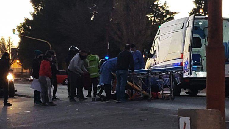 Atropellaron a un adolescente en Cutral Co y está grave