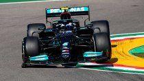 Valtteri Bottas fue la referencia del viernes de la Fórmula 1 en Imola