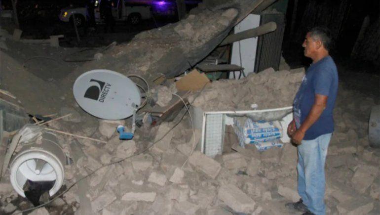 San Juan: una réplica del fuerte sismo alcanzó casi los 4 grados Ritcher