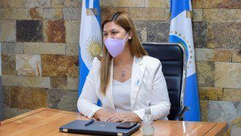 Gloria Ruiz pidió la vacunación para mayores de 18 años en Plottier