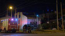 voraz incendio causo danos totales en una casa de barrio belgrano