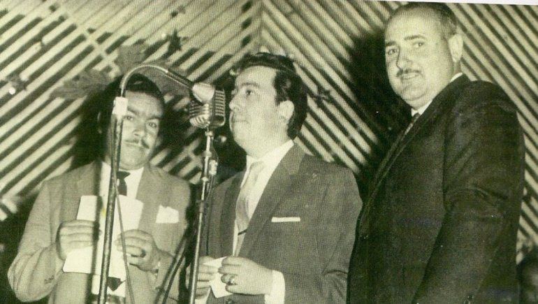 Tito Herrera, Dante Morosani y Agustín Orejas.