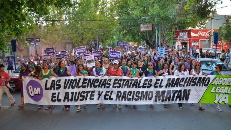Ciudad por ciudad: este es el mapa de las marchas por el #8M en Neuquén
