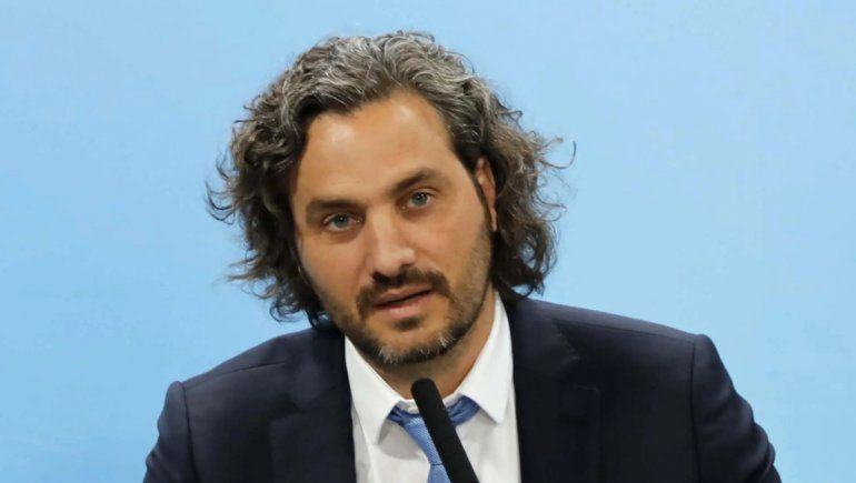 Santiago Cafiero habló sobre la economía y el COVID-19
