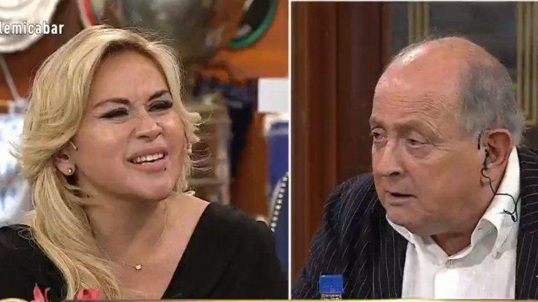 Ojeda enfrentó a Chiche Gelblung: Vos siempre acusás sin saber