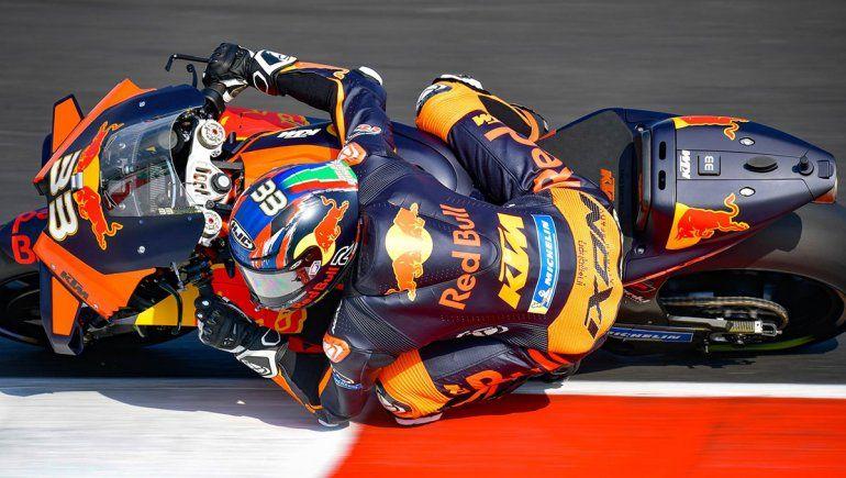 Brad Binder comandó las acciones del viernes del Moto GP en el Gran Premio de Emilia-Romagna