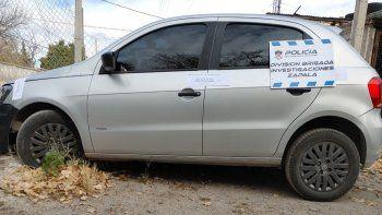 recuperaron en mariano moreno un auto robado en cordoba