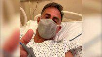 preocupacion: diego latorre fue internado por coronavirus