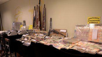 secuestraron mas de 60 kilos de marihuana y detuvieron a un capo narco