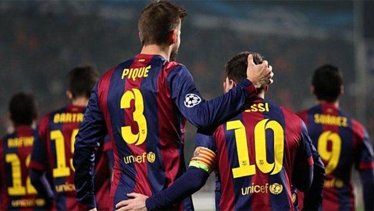 Arde el Barsa: afirman que Messi se enojó con Piqué y rompió relaciones