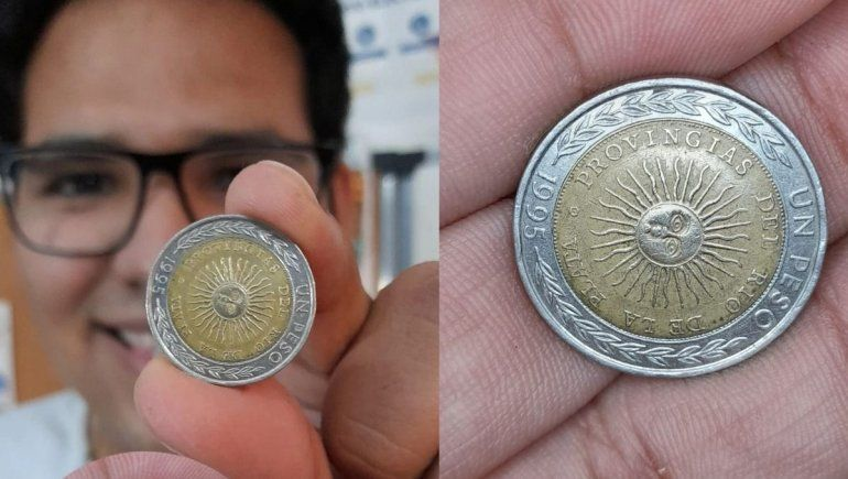 El neuquino que encontró la moneda de 15 mil pesos