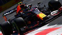 Red Bull fue el amplio dominador del viernes de la Fórmula 1 en Azerbaiyán