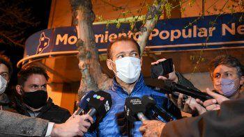 gutierrez hablo de unidad y dijo: vamos a esperar que se termine de contar hasta el ultimo voto