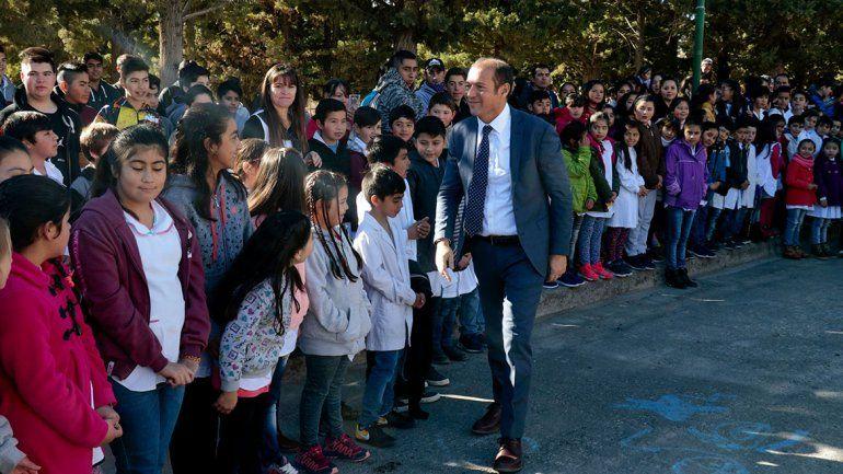 Barrancas festejó con nuevo edificio para el CPEM 81