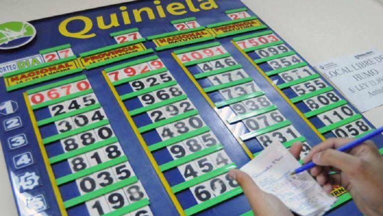 Resultado Quiniela de la Provincia: Primera del 8 de abril