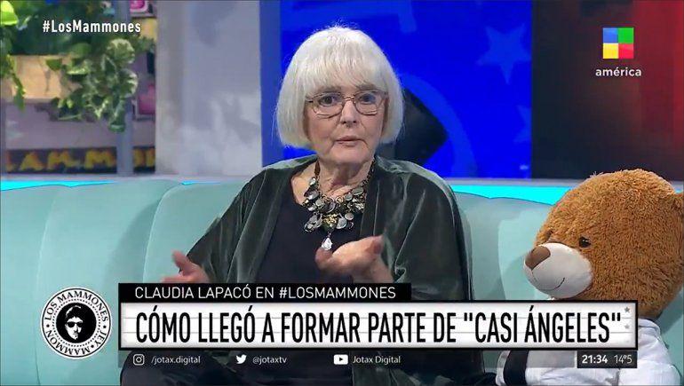 El motivo por el cual Claudia Lapacó actuó en Casi Ángeles