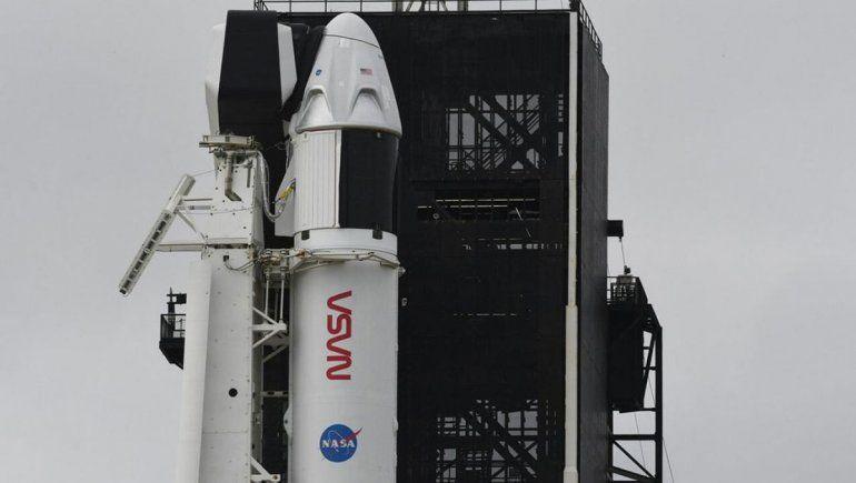 Reprograman para hoy el despegue de una nave SpaceX