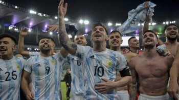 maracanazo: argentina es campeon tras 28 anos y al fin se le dio a messi