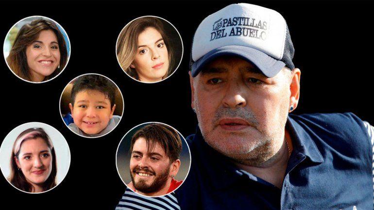 Escándalo: los herederos de Maradona se niegan a pagar el impuesto a la riqueza